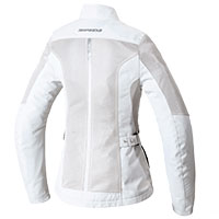 Spidi Solar Tex Net Lady Jacket White