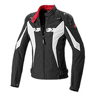 Spidi Sport Warrior Tex Lady Jacket Black White