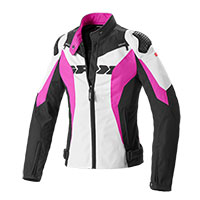 Spidi Sport Warrior Tex Lady Jacket Black Pink