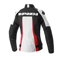 Spidi Sport Warrior Tex Lady Jacket Black Red