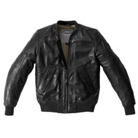 Spidi Super Leather Jacket Black