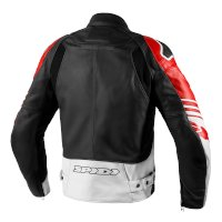 Spidi Track Warrior Leather Jacket Red