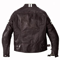 Spidi Vintage Leather Jacket Ice Brown