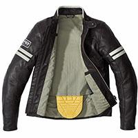 Spidi Vintage Leather Jacket Ice Brown