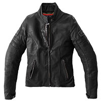 Spidi Vintage Lady Leather Jacket Black
