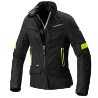 Spidi Voyager 4 H2out Lady Jacket Black Yellow
