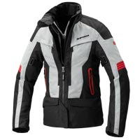 Spidi Voyager 4 H2out Lady Jacket Black Gray