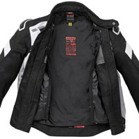 Spidi Warrior Net Jacket Black White - 3