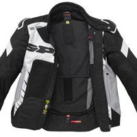 Spidi Warrior Net Jacket Black White - 4