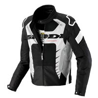 Spidi Warrior Net 2 Jacket Black White