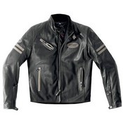 Spidi Ace Leather Jacket Black Grey