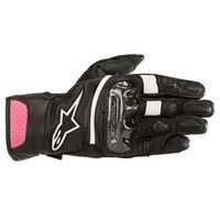 Alpinestars Stella Sp-2v2 Leather Guanti Neri Fucsia Donna