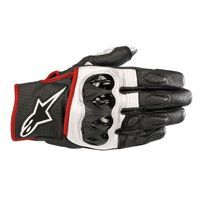 Alpinestars Celer V2 Leather Glove Black White Red