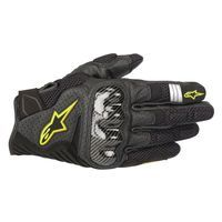 Alpinestars Smx-1 Air V2 Glove Black Fluo Yellow