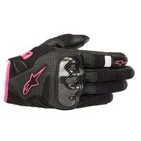 Alpinestars Stella Smx-1 Air V2 Gloves Black Fuchsia Lady