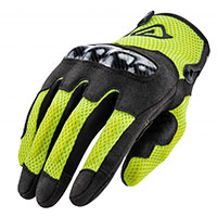 Acerbis Ce Ramsey My Vented Gloves Yellow Fluo