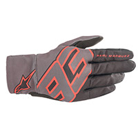 Alpinestars Aragon Gloves Black Anthracite Red