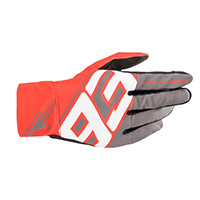 Alpinestars Aragon Gloves Grey Red White