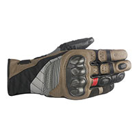 Alpinestars Belize Drystar Black Brown Red