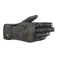Alpinestars Brass Leather Gloves Black