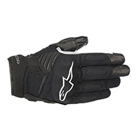 Alpinestars Faster Gloves Black White