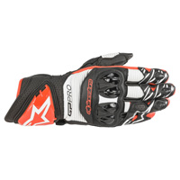 Alpinestars Gp Pro R3 Gloves White Red