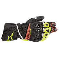 Alpinestars Gp Plus R V2 Gloves Yellow Black Red