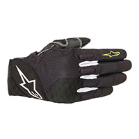 Alpinestars Crossland Gloves Black Yellow Fluo