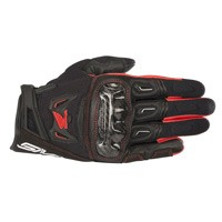 Alpinestars Smx-2 Air Carbon V2 Honda Gloves Black Red