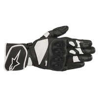 Alpinestars Sp-1 V2 Leather Gloves White Black