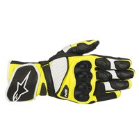 Alpinestars Sp-1 V2 Leather Gloves Yellow Black