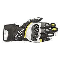 Alpinestars Sp-2 V2 Gloves Black White Yellow Fluo