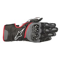 Alpinestars Sp-2 V2 Gloves Black Gray Red Fluo