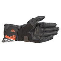 アルパインスターズ SP-8 V3 手袋 ブラック フルオ レッド