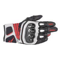 Guanti Moti Alpinestars Sp X Air Carbon V2 Bianco Rosso