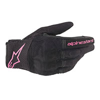 Alpinestars Stella Copper Gloves Black Fuchsia Lady