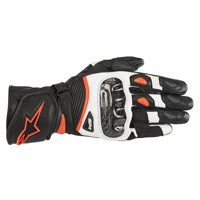 Alpinestars Stella Sp-1 V2 Leather Gloves Black White Red Lady