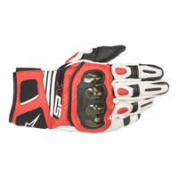Guanti Moti Alpinestars Sp X Air Carbon V2 Rosso