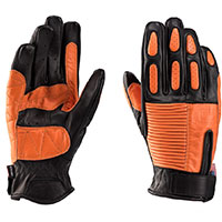 Gants Blauer Banner Noir Orange