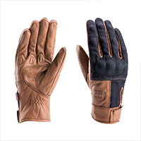 Blauer Combo Denim Gloves Biscuit