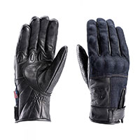 Blauer Combo Denim Gloves Black