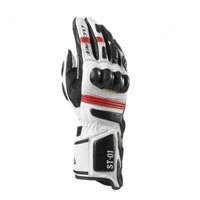 Clover Gloves St01 White Red