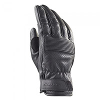 Clover Bullet Leather Gloves Black