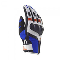 Clover Predator Gloves White Blue