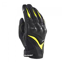 Guantes Clover Raptor 3 negro amarillo