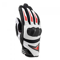 Clover Raptors Plus Gloves White Red