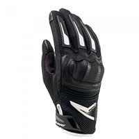 Clover Raptors Plus Gloves Black White