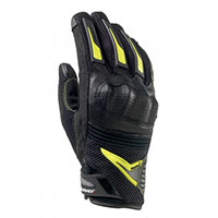 Clover Raptors Plus Gloves Black Yellow