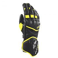 クローバーRS-9レースレプリカ手袋ブラックイエロー