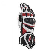 クローバーRS-9レースレプリカ手袋白赤黒